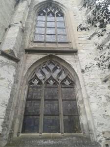 La Bihoree Eglise St Jacques Lisieux fenetres gothiques