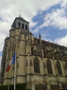 La Bihoree Eglise St Jacques Lisieux gothique flamboyant