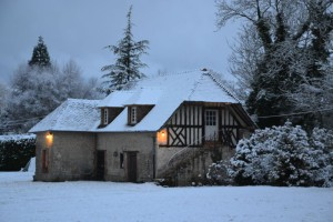 la bihoree le pressoir sous la neige pf