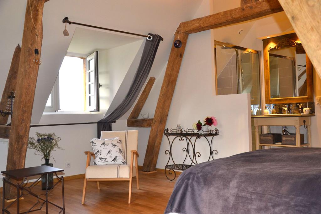2 chambres d 39 hotes de charme saint jean de livet pr s for Saint jean chambre